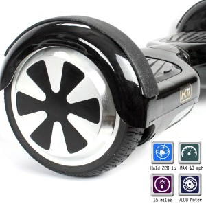 Balance Scooter - Self Balancing Scooter by KiiRover, 2 Wheel Smart Electric Skateboard Mini Balance Board, Easy to learn, Powerful Motors, USA Warranty & Support Guaranteed
