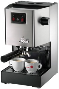 Gaggia 14101 Classic Espresso Machine, Brushed Stainless Steel