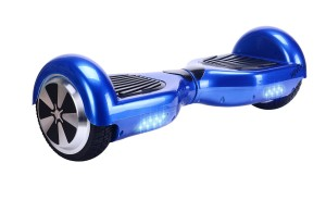 Hover X Self Balancing Hoverboard Balance Scooter with LED Lights, Blue