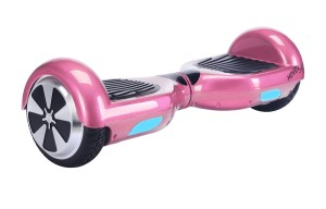Hover X Self Balancing Hoverboard Balance Scooter with LED Lights, Pink
