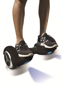 Jetson Electric Gyro Self Balancing Scooter, Black