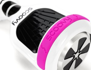 Protective Scoovy Pink Replacement Bumper for Hoverboard 2 Wheel Self Balancing Scooter - One Pair