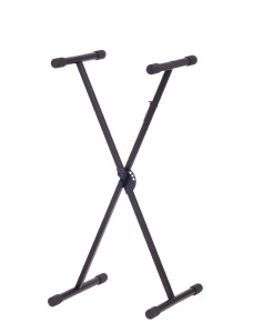 Stage Rocker Powered by Hamilton SR524000 Single X Style Keyboard Stand - Black