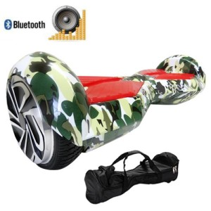 US Seller. Bluetooth Lambo Version Jungle Hoverboard! Free Bag! Bigger Size! Mini Self Balancing Scooter Two Wheel Self Balance Smart Electric Scooters Hover Board with Led Light
