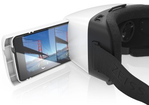VR ONE Virtual Reality Headset for iPhone 6 Tray - Retail Packaging - White