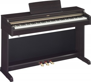 Yamaha Arius YDP162R Traditional Console Style Digital Piano with Bench, Rosewood