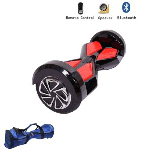 Z ZTDM 8 Two Wheel Smart Self Balance Board Electric Scooter Skateboard Car Bluetooth Speaker with LED Light + Key Controller
