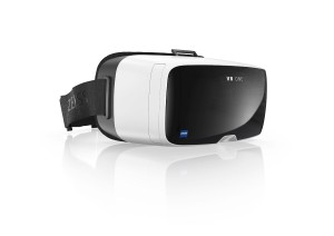 ZEISS VR ONE Virtual Reality Headset - Retail Packaging - White with Black front and head strap