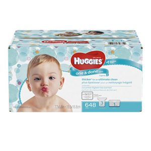 Huggies One & Done Refreshing Baby Wipes Refill