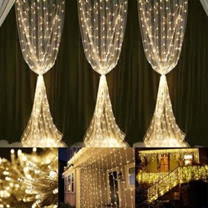 Neretva Window Curtain String Lights