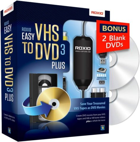 Roxio -The best VHS to DVD converter for effective conversion