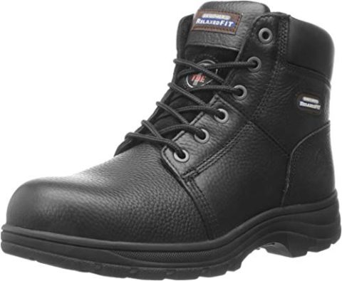 Skechers Workshire Relaxed Steel Black-Best for electrical work