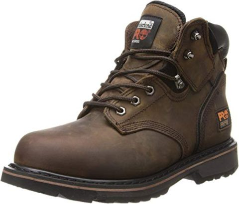 Timberland PRO Pitboss Steel Toe Brown-Best for use in industries