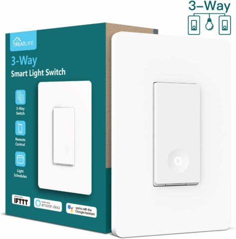 Treatlife Wi-Fi Light Switch-The best smart Wi-Fi light switches for those looking for quality