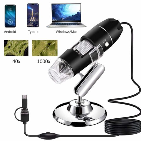 AOLOX USB Microscope-The best usb microscope for magnifying