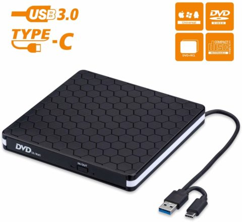Amicool CD / DVD drive-The best and long-lasting external CD/DVD drive