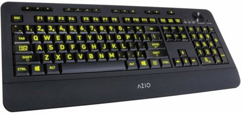 Azio Vision Backlit keyboard-The best and vibrant backlit keyboards