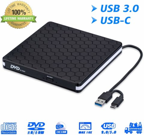MiluoTech CD / DVD drive-The best and durable external CD/DVD drive