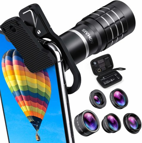 AOMAIS phone camera lens-The best phone camera lens for effective photo taking