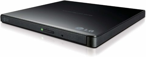 LG Electronics 8X USB 2.0 Super Multi Ultra Slim Portable DVD Writer Drive +/-RW External Drive