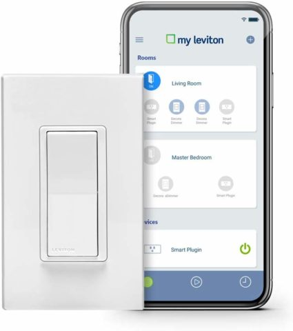 Leviton WiFi light switch-The best smart Wi-Fi light switches for redesigned lighting