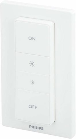 Philips Hue WI-Fi Light Switch-The best smart Wi-Fi light switches with color-changing capability