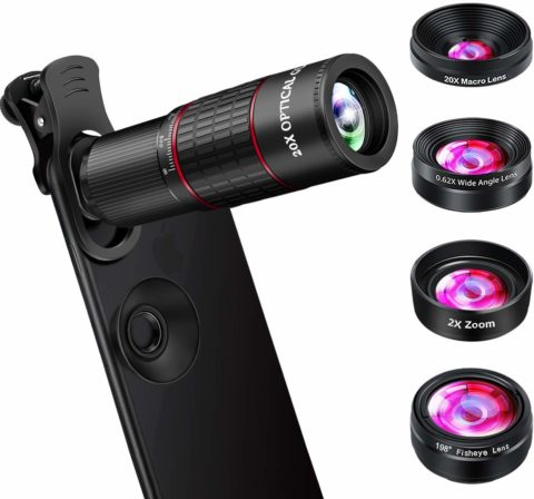 OVPPH phone lens unit-The best phone camera lens for zooming