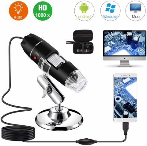 Bysameyee USB Microscope-The best usb microscope for deep viewing