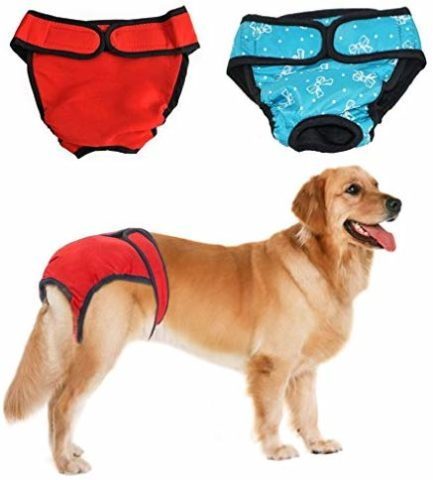 BWOGUE premium dog diapers-The best and reusable dog diapers