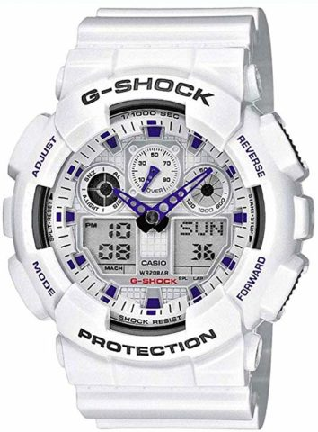Casio G Shock GA100A-7A watches-The best and nice-looking g shock watch