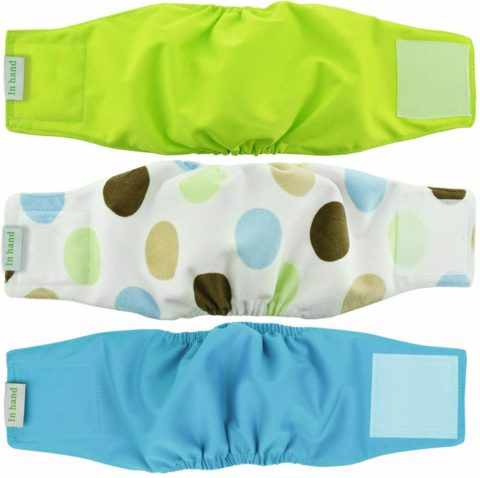 IN HAND Dog Diapers-The best and easy to use dog diapers