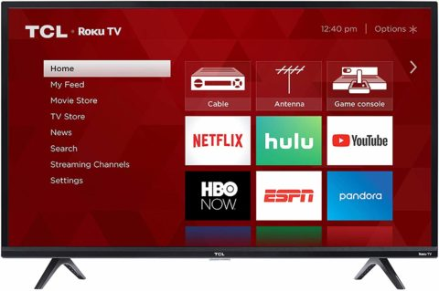 TCL 32S325 32 inch TV-The best 32 inch TV for sharp images