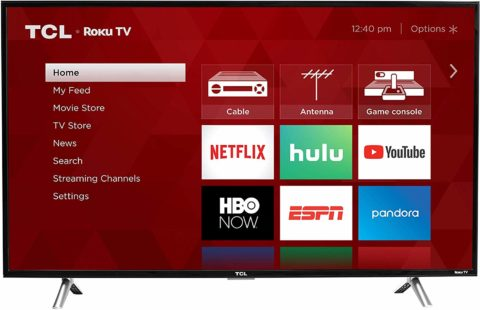 TCL 40S305 40inch TV-The best 40-inch TV for still pictures
