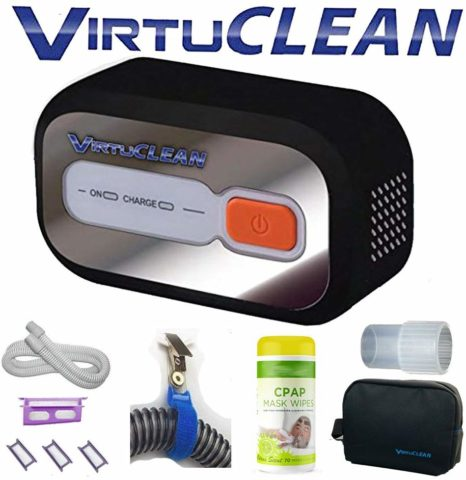 VirtuClean CPAP cleaner-The best CPAP cleaner for traveling guys