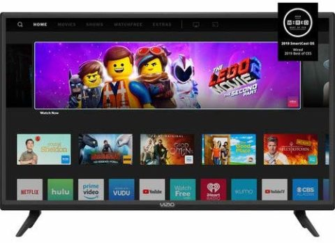 Vizio 32 inches smart TV-The best 32 inch TV for space