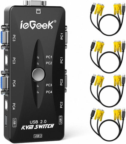 IEGeek KVM switch-The best affordable KVM switch