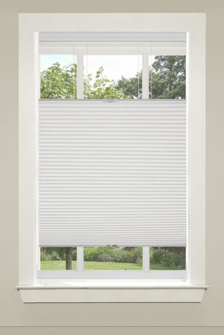 Achim Home Furnishings Top-Down Cordless Honeycomb Cellular Pleated Shade