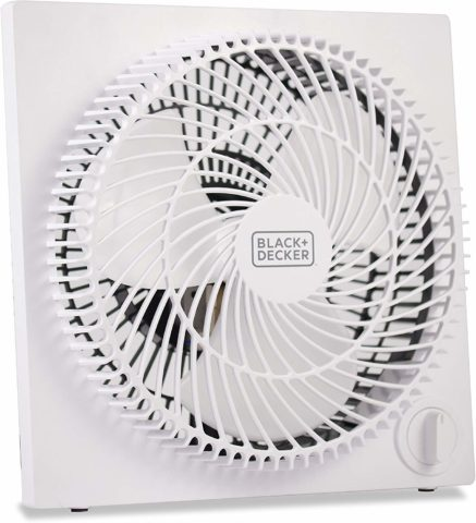 Black & Decker 9 inches Frameless Tabletop Box Fan