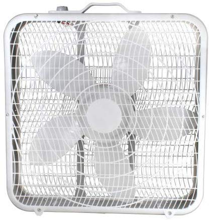 Comfort Zone CZ200A 20 3-Speed Box Fan for Full