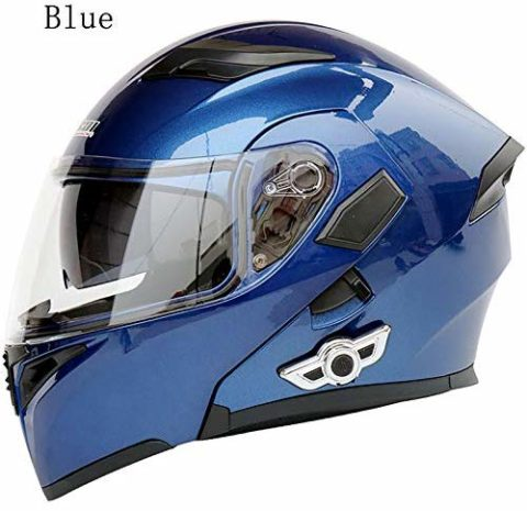 MOPHOTO Bluetooth Integrated Motorcycle Helmets