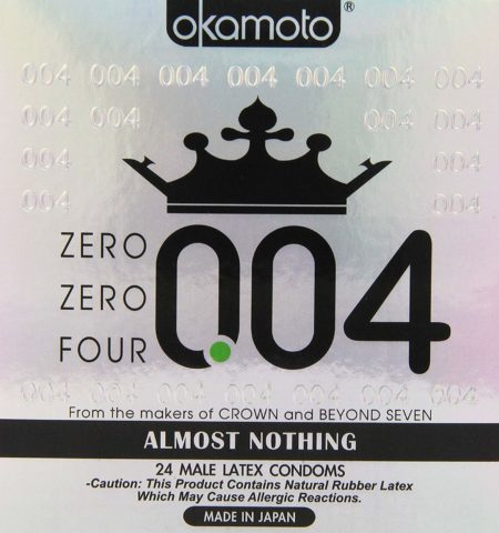 Okamoto 0.04 mm Zero Zero Four Condoms