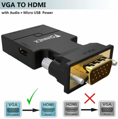 ENFEI-The best VGA to HDMI for workspace