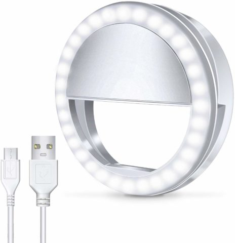 Meifigno Selfie Phone Camera Ring Light