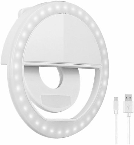 Oternal Rechargeable Portable Clip-on Selfie Fill Light