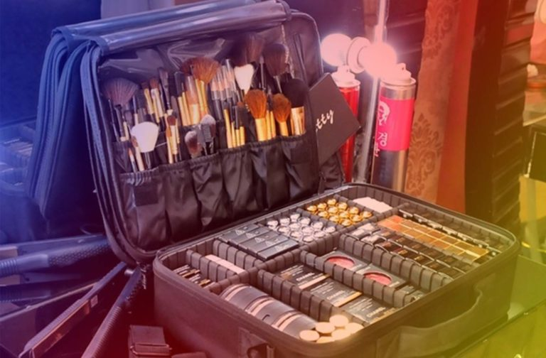 Makeup Train Case Organizer